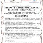 INTERNET E IL POTENZIALE RISCHIO DI COMMETTERE UN REATO
