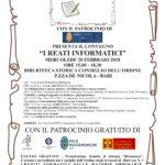 """Evento formativo 28 febbraio 2018 """"I REATI INFORMATICI"""" Bari"""