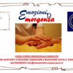 """VIDEO CORSO EMOZIONALE GRATUITO """"EMOZIONI IN EMERGENZA"""""""